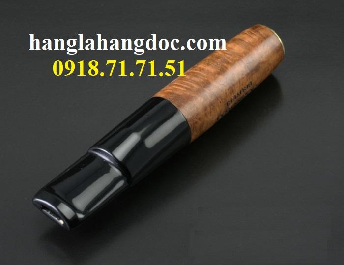 Tẩu hút thuốc lá điếu khử độc Denicotea 20243 Đức gỗ thạch nam cao cấp - 1