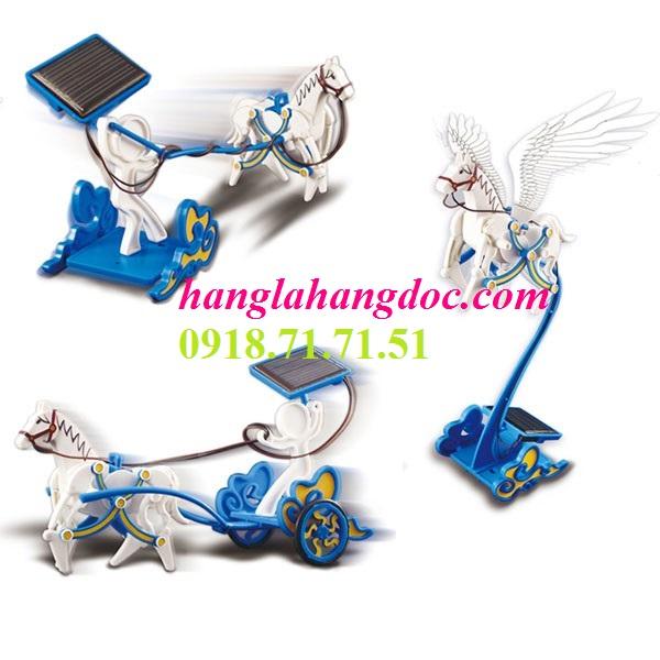 Bộ lắp ráp robot kit 3 in 1 năng lượng mặt trời phiên bản ngựa bay Pegasus