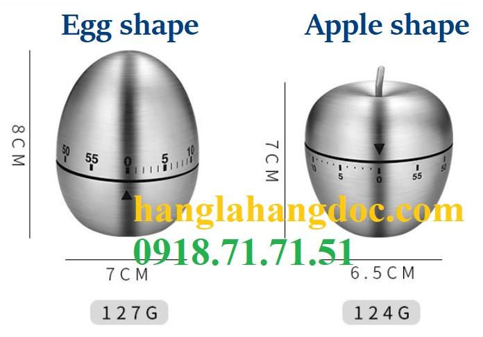 Đồng hồ nhà bếp hình trứng, táo, UFO, núi lửa thương hiệu Schindler - 4