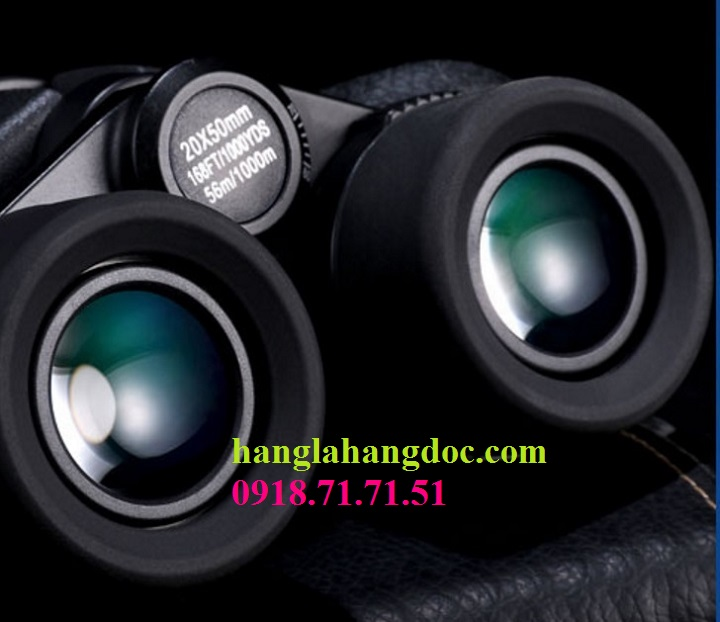 Ống nhòm Canon 20x50 power view, thấu kính BaK4 siêu nét, chống rung.. - 6