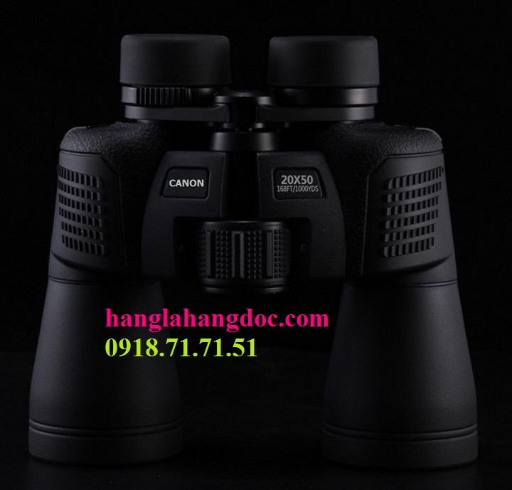 Ống nhòm Canon 20x50 power view, thấu kính BaK4 siêu nét, chống rung.. - 7