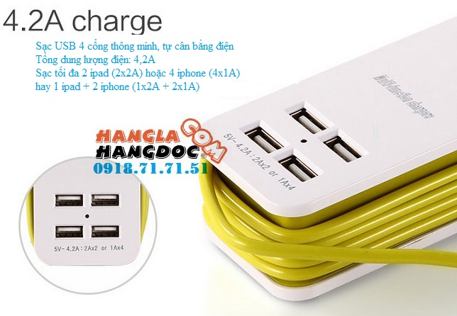 O cam da nang du lich co cong usb travel adapter gia re - 23