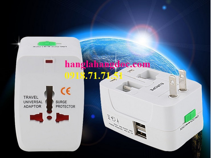 O cam da nang du lich co cong usb travel adapter gia re - 15