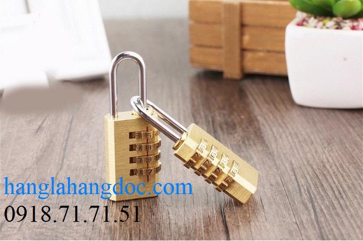 Ổ khóa số balo, vali, hành lý; dây khóa mã số Tonyon thép sợi chống cắt, giá rẻ - 18