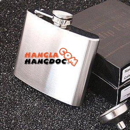 Bình inox đựng rượu Whisky Hip Flask (4 - 18 oz), ly giữ nhiệt ống lens zoom Canon rẻ