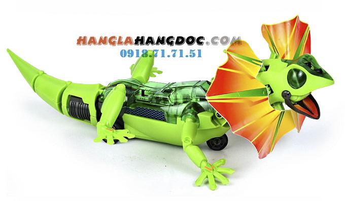 Robot lắp ráp năng lượng mặt trời 6 in 1, quái thú năng lượng gió, tắckè thú cưn