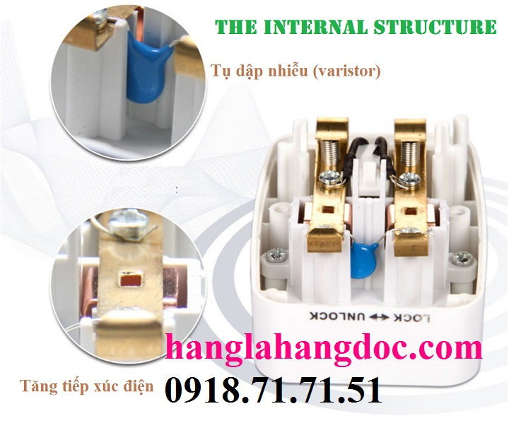 O cam da nang du lich co cong usb travel adapter gia re - 4