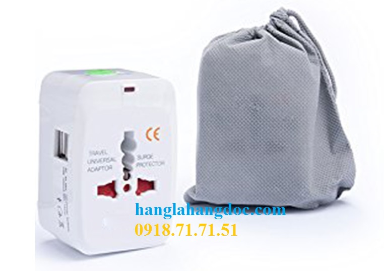 O cam da nang du lich co cong usb travel adapter gia re - 5