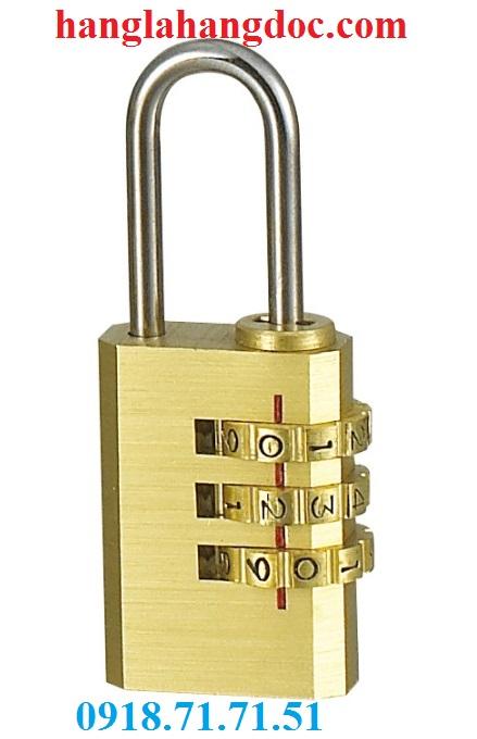 Ổ khóa số balo, vali, hành lý; dây khóa mã số Tonyon thép sợi chống cắt, giá rẻ - 13
