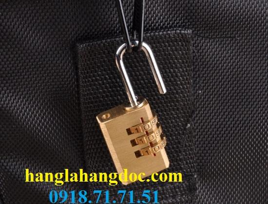Ổ khóa số balo, vali, hành lý; dây khóa mã số Tonyon thép sợi chống cắt, giá rẻ - 15
