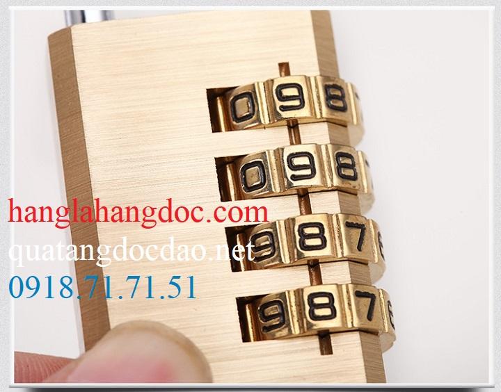 Ổ khóa số balo, vali, hành lý; dây khóa mã số Tonyon thép sợi chống cắt, giá rẻ - 16