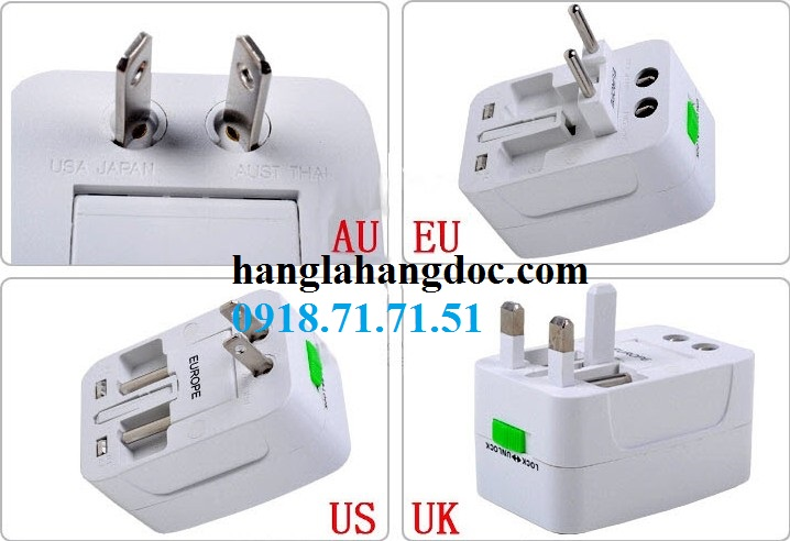 O cam da nang du lich co cong usb travel adapter gia re - 3