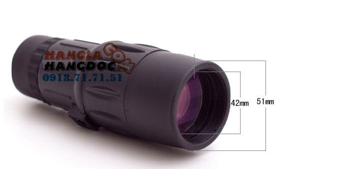 Ống nhòm hàng hiệu Nikula 10-30x25 1 mắt, thấu kính thạch anh, hình ảnh trong veo