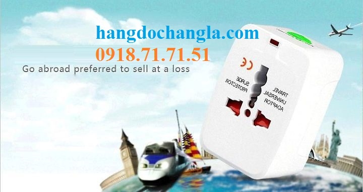 O cam da nang du lich co cong usb travel adapter gia re