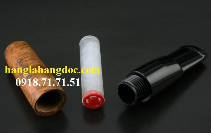 Tẩu hút thuốc lá điếu khử độc Denicotea 20243 Đức gỗ thạch nam cao cấp - 4