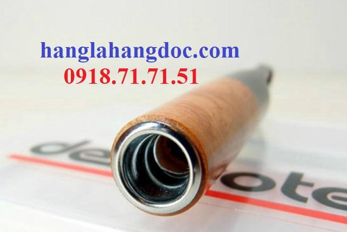 Tẩu hút thuốc lá điếu khử độc Denicotea 20243 Đức gỗ thạch nam cao cấp - 10