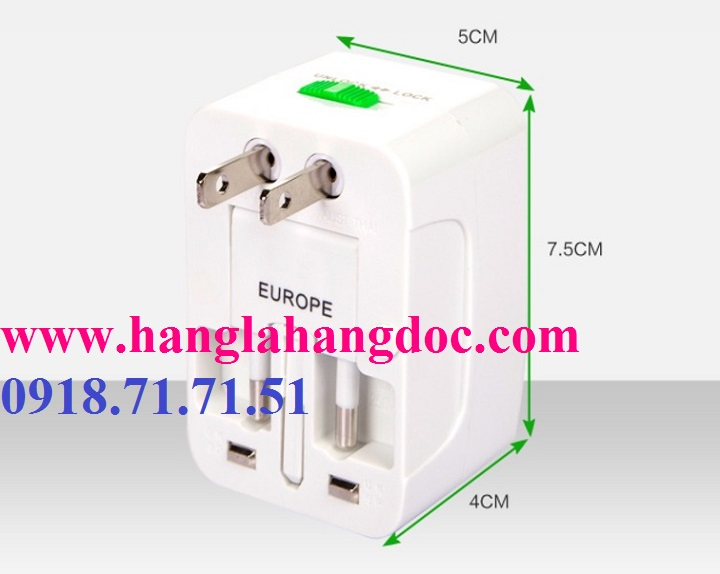 O cam da nang du lich co cong usb travel adapter gia re - 13